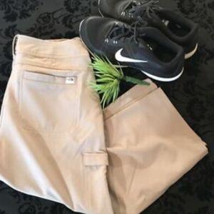THE NORTH FACE Size 6 Crop Capri Pants Khaki